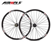 Wholesale mountain bike 29er wheels - Airwolf China carbon wheels 3K weave carbon bike wheels clincher 26 27.5 29er carbon wheelset