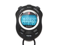 temporizador de funcionamiento al por mayor-Zhuiri ps-9100 luminosa 100 cronómetro electrónico árbitro deportivo temporizador electrónico