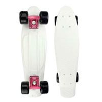 tablas de skate completos al por mayor-Patineta Mini Cruiser en las cuatro ruedas Patineta completa Retro Estilo clásico LED parpadeante Mini patineta Camión de skate para adulto o para niños