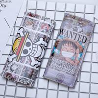 şekil cüzdan toptan satış-TEK PARÇA Anime Eylem Şekil Monkey D. Luffy Baskılı PU Deri Karikatür Uzun Katlama Cüzdan Kart Sahibi Çanta Cüzdan Yaratıcı Oyuncak