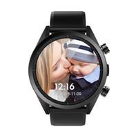 32 gramlık izle toptan satış-Kospet Umut 3G + 32G 4G-LTE İzle Telefon 1.39' AMOLED WIFI GPS / GLONASS 8.0MP Android7.1.1 Akıllı İzle - Siyah