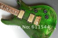 musikinstrumente am neuesten großhandel-Musikinstrumente neueste grüne elektrische Gitarre sehr Schönheits-Gitarre geben Verschiffen frei