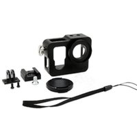 Wholesale gopro protective case for sale - Group buy For GoPro Aluminium Shell Frame Protective Housing Case With UV Filter Lens Cap For Gopro Hero edition Accessories