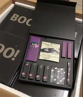 caja de pintalabios grande al por mayor-Nuevo K Makeup Set BOO ¡Colección de vacaciones de Halloween edición limitada BOO! Sombreador de ojos paleta marcador de labios kit Big Box Cosmetics