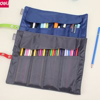 Wholesale deli supplies online - Deli Cute Pencil Bag Cute Fabric Pencil Case Pouch Bag Kawaii Stationery Office School Supplies