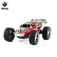 Wholesale Mini Wltoys - WLtoys 1:32 Mini RC Car Remote Control Buggy Car High Speed Off Road Electronic Radio Racing Cars Toys RC Buggy