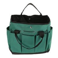types garden tools 2018 - Y5080 Garden Tool Bag Oxford Fabric Garden Square Box Type Bag for Gardening Tool Kit