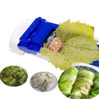 cuisine aux raisins achat en gros de-1 pc Creative Raisin Feuille De Chou Feuille De Basil Feuilles Machine À Rouler Pour Sushi Maker Cuisine Bar Outils