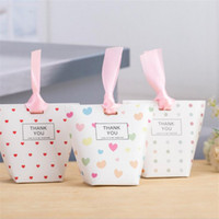 Wholesale candy kids favors bags - Party Favors for Kids Little Bear Design Wedding Candy Boxes Heart Pattern Gift Bags Box Cases 094