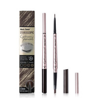 длительный карандаш для бровей оптовых-Ultra Beauti Eyebrow Pencil  Stereoscopic Waterproof Double Head Eye Brow Pencil Long-lasting Silky Cosmetics Tool