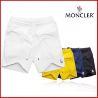 heiße stämme für männer großhandel-Neue Moschinos Männer heiße coole Marke Eine Vielzahl von Farben hochwertige bestickte Markenzeichen Herren Sport Shorts Strandhose Badehose m-3xl
