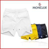 hombres caliente tronco corto al por mayor-Nuevos moschinos hombres marca de moda y una variedad de colores, pantalones deportivos bordados de marca de alta calidad para hombres, pantalones de playa, pantalones de baño m-3xl