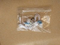 Wholesale Mp4 Cheap - cheap earphone with polybag packing 2 pieces per lot free post service
