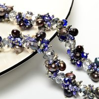 женские модели ожерелья оптовых-Free shipping natural cultured pearl necklace female models exclusively designed fashion exquisite gift Specials
