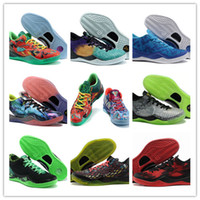 Wholesale cutting system - What the Mens kobe 8 VIII System High-Quality Basketball Shoes Cheap Classic KB 8 Mamba Assassin Easter Master Sports Fashion Size 40-45