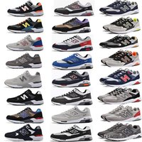 Wholesale Champagne C - free shipping N letters Trainer New generations admission men and women balanced casual sports shoes lovers shoes running shoes Sneakers