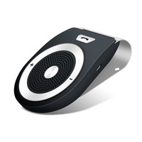 Wholesale car kit multipoint bluetooth handsfree speakerphone resale online - Sun Visor Bluetooth Car Kit Handsfree Noise Cancelling Bluetooth V4 Receiver Car Speakerphone Multipoint Clip