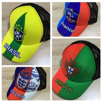 Wholesale fashion nation - 2018 World Cup Nation Team Soccer Snapbacks, Fashion Baseball cap hip-hop Football cap Hat,Discount cheap Outdoor Sports Headwear caps hats