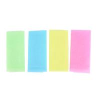 panos de lavar japonês venda por atacado-1 pc pano de pele toalha de polimento esfoliante pano de lavagem japonês lavagem de corpo toalha de banho de nylon pele