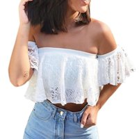 78e3b5b4849a5 Womens White Lace Blouses Canada | Best Selling Womens White Lace ...
