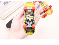 Wholesale fingerboard for sale - Group buy Stock Mini Finger Skateboard Fingerboard For Tech Deck Alloy Stents Scrub Finger Toys Stress Release Toys With High Quality
