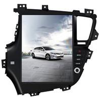 Wholesale car gps online - 12 Vertical Style Android auto Car NO DVD GPS Navigation Player for KIA Optima KIA K5