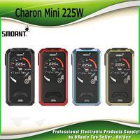 Wholesale vape screens - Original Smoant Charon Mini 225W TC Box Mod Dual 18650 Battery 2.0 inch TFT Color Screen Powered Ecig Vape Mods 100% Authentic