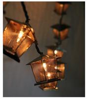 decoraciones de luces de navidad de la vendimia al por mayor-La luz del vintage de la luz del LED de la Navidad caliente accionó con la zambullida de la CA adentro para la decoración de la Navidad de la boda del partido