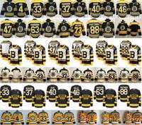 ingrosso boston bruins classici invernali-2019 Winter Classic Boston Bruins 4 Bobby Orr 33 Zdeno Chara 37 Patrice Bergeron Tuukka Rask Krejci Brad Marchand 73 Charlie McAvoy Jersey