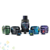 kit 3.5 venda por atacado-Tampas de tubo de substituição de Resina Drip Tip Kit Fit Cleito120 Cleito Malha 24 RTA Vaporesso Revenger 3.5 ML NRG SE 5 ml NRG DHL Livre