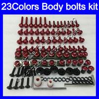Fairing bolts full screw kit For YAMAHA FJR1300 06 07 08 09 10 12 FJR 1300 2006 2007 2008 2010 2012 Body Nuts screws nut bolt kit25Colors