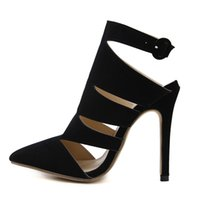 06f1f7efbaa sandálias pretas elegantes do partido venda por atacado-2018 sapatos de  verão para a mulher