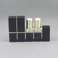 Wholesale lips mold for sale - Group buy LP4528 square shape black lip stick container mm mold empty lipstick case color cosmetic package