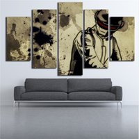Wholesale set wall art panels for sale - 5 Set Modern Abstract Graffiti DJ Night Music Wall Art oil Painting High Quality On Canvas Home Decor Multi Sizes g145