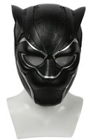 Wholesale vision costume - 2018 Updated Vision Black Panther Helmet Movie Superhero Cosplay Helmet Costume Party Props for Halloween Cosplay Show for Adults