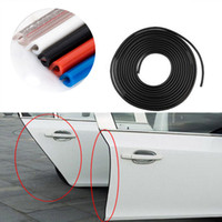 Wholesale vehicles mercedes - Car Door sticker Edge Guards Trim Molding Protection Strip Scratch Protector Sticker Scratches Vehicle External trim Window Sticker