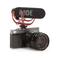 kamerahalterung dslr großhandel-Rode VideoMic Go Video On-Camera-Mount Rycote Lyre-Interview-Mikrofon für Canon Nikon Sony DSLR-Kamera-Mobiltelefon
