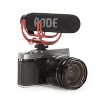 установленная видеокамера оптовых-Ехал VideoMic Go видео на камеру Rycote Lyre интервью микрофон для Canon Nikon Sony DSLR камеры мобильного телефона