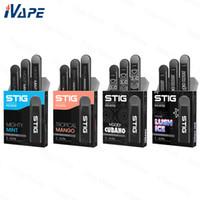 ingrosso migliori batterie per pile vape-Dispositivo VGOD Stig monouso Pod Dispositivo 3 pz / lotto 270 mAh Batteria 1.2ml Cartuccia Vape Pen Kit Migliore per MTL