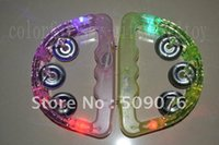 Wholesale toy tambourines for sale - Group buy cm LED Baby Rattle Hand Bell Light Up LED Tambourine Luminous Toys Bar KTV Party Cheering Prop