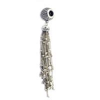 ingrosso nappa originale-2018 Primavera 925 gioielli in argento Sterling incantata fascini nappa perle originali Adatto donne monili che fanno Bracciali Pandora