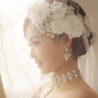 bandas de pelo de cristal al por mayor-venta caliente de la joyería nupcial accesorios de la boda tiaras de cristal de cristal Hairbands Headbands pelo de las mujeres y la cadena de coronas cabeza 233