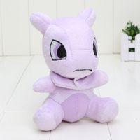 Wholesale q kid - 14cm Q vision pikachu Mewtwo Plush Doll Stuffed Animal Plush Toy Doll