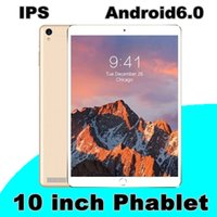Wholesale android tablets 16gb - 100x 10.1-inch tablet PC IPS Android 6.0 3G MTK6592 quad-core 1MB+16GB 128G memory can be inserted.