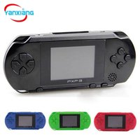 Wholesale gaming consoles - 30PCS Wholesale PXP3 16 Bit TV Video Game Console Gameboy Handheld Gaming Consoles PXP Mini Pocket Game Players For GBA Games DHL YX-PXP-1