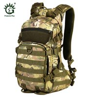 Wholesale tactical bicycle bags resale online - Protector Plus L Outdoor Tactical Backpack Bicycle Helmet Bag For Camping Climbing Cycling Hiking