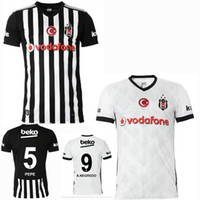 Wholesale best turkeys - Top! 2017 2018 Besiktas JK Soccer Jersey 17 18 club Turkey Besiktas PEPE QUARESMA home away best quality Sports football shirts jeresys