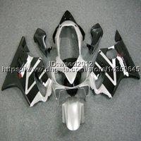 ingrosso corpo personalizzato cbr-5Gifts + Custom stampo iniezione nero moto scafo per HONDA CBR 600F4i 2004 2005 2006 2007 CBR600 F4i 04-07 Kit carrozzeria Carene ABS