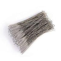 ingrosso 6 paglie di paglia-Spazzola per pulizia filo in acciaio inossidabile Spazzole per pulizia cannucce Bottiglie Detergente per pennelli 17,5 cm
