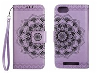 Wholesale court cases online – custom For Wiko Lenny Case Flip Cover Leather PU Wallet Card Court Classical Flower Flip Cover For Wiko Lenny Case Cover